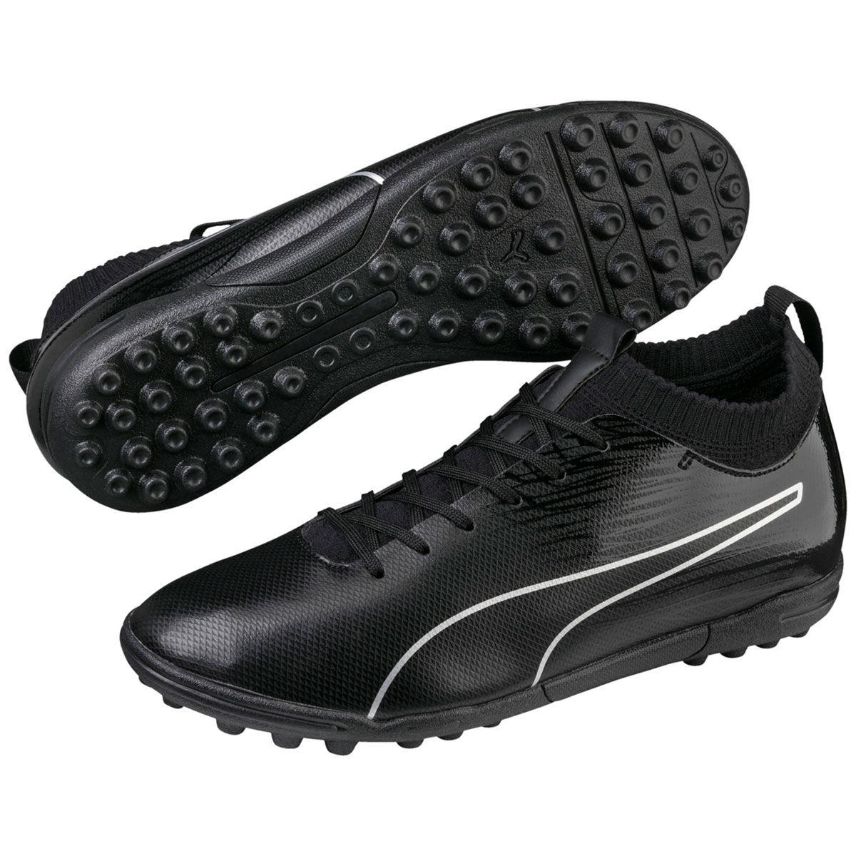 Puma Men's Evoknit Ftb Ii Tt Soccer Cleats - Black, 8.5