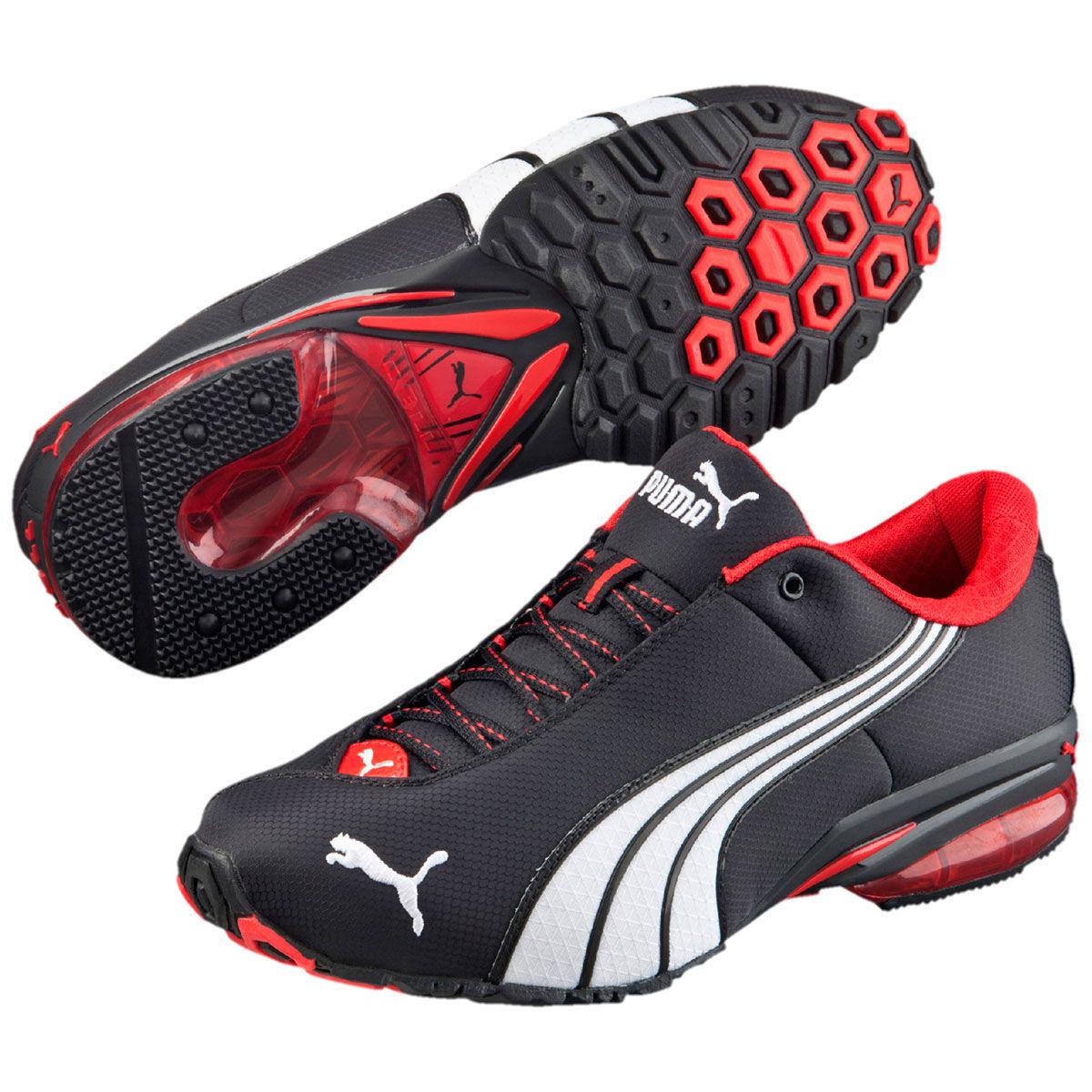 Puma Men's Jago Nylon Sneakers - Black, 12