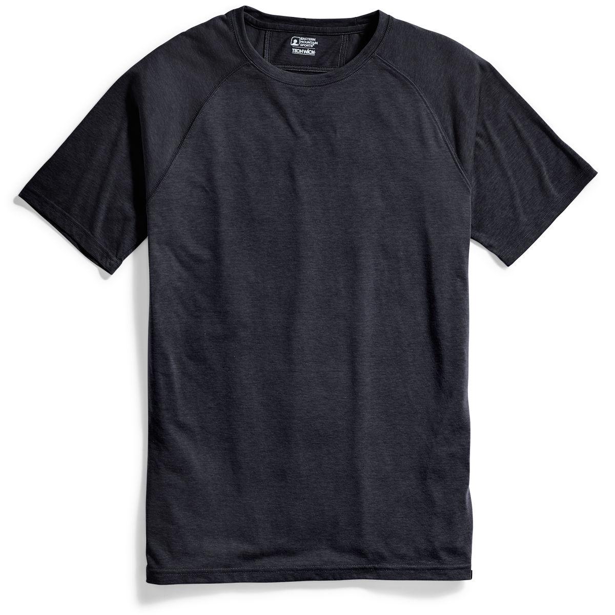 Emsa(R) Men's Techwicka(R) Vital Discovery Short-Sleeve Tee - Black, M