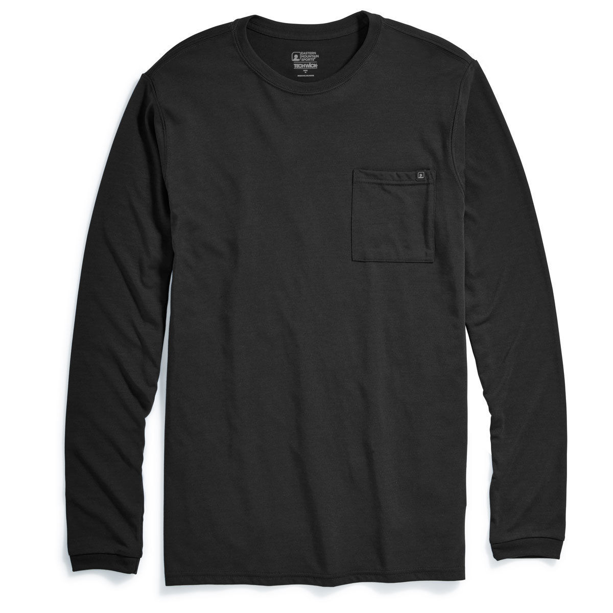 Emsa(R) Men's Techwicka(R) Vital Pocket Long-Sleeve Tee - Black, L