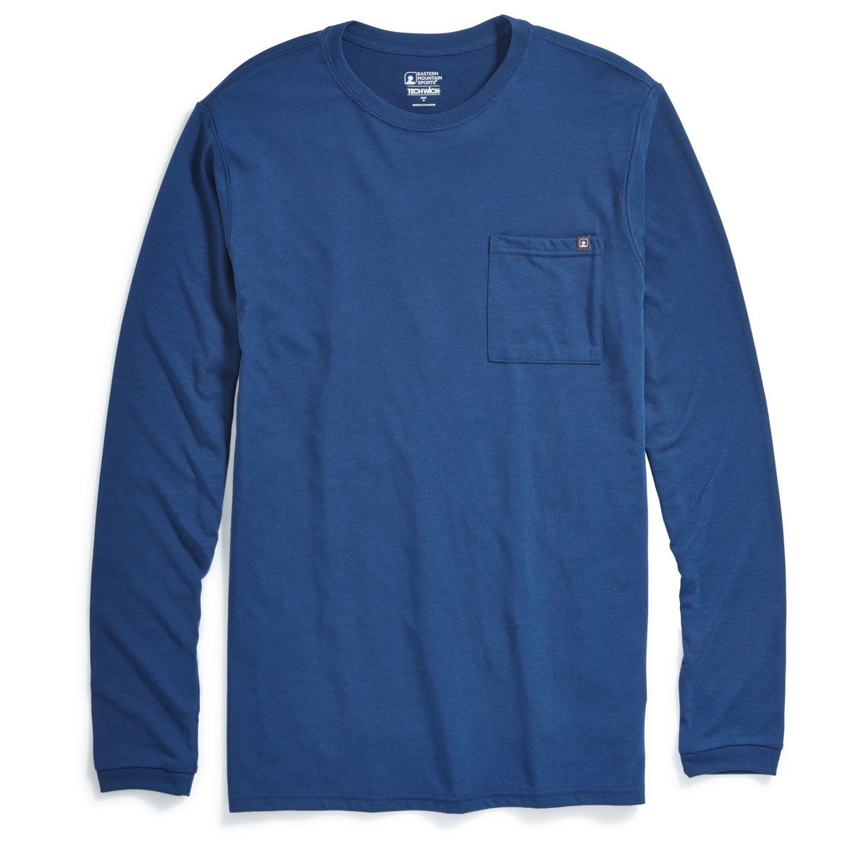 Emsa(R) Men's Techwicka(R) Vital Pocket Long-Sleeve Tee - Blue, XL