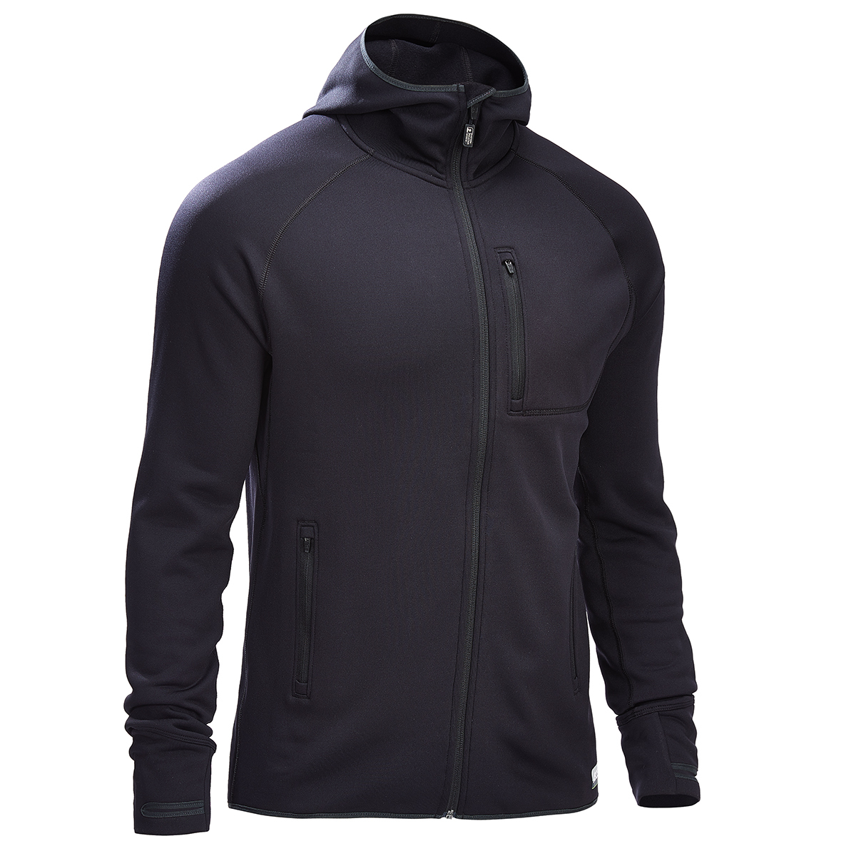 Ems Men's Equinox Power Stretch Hoodie - Black, XL