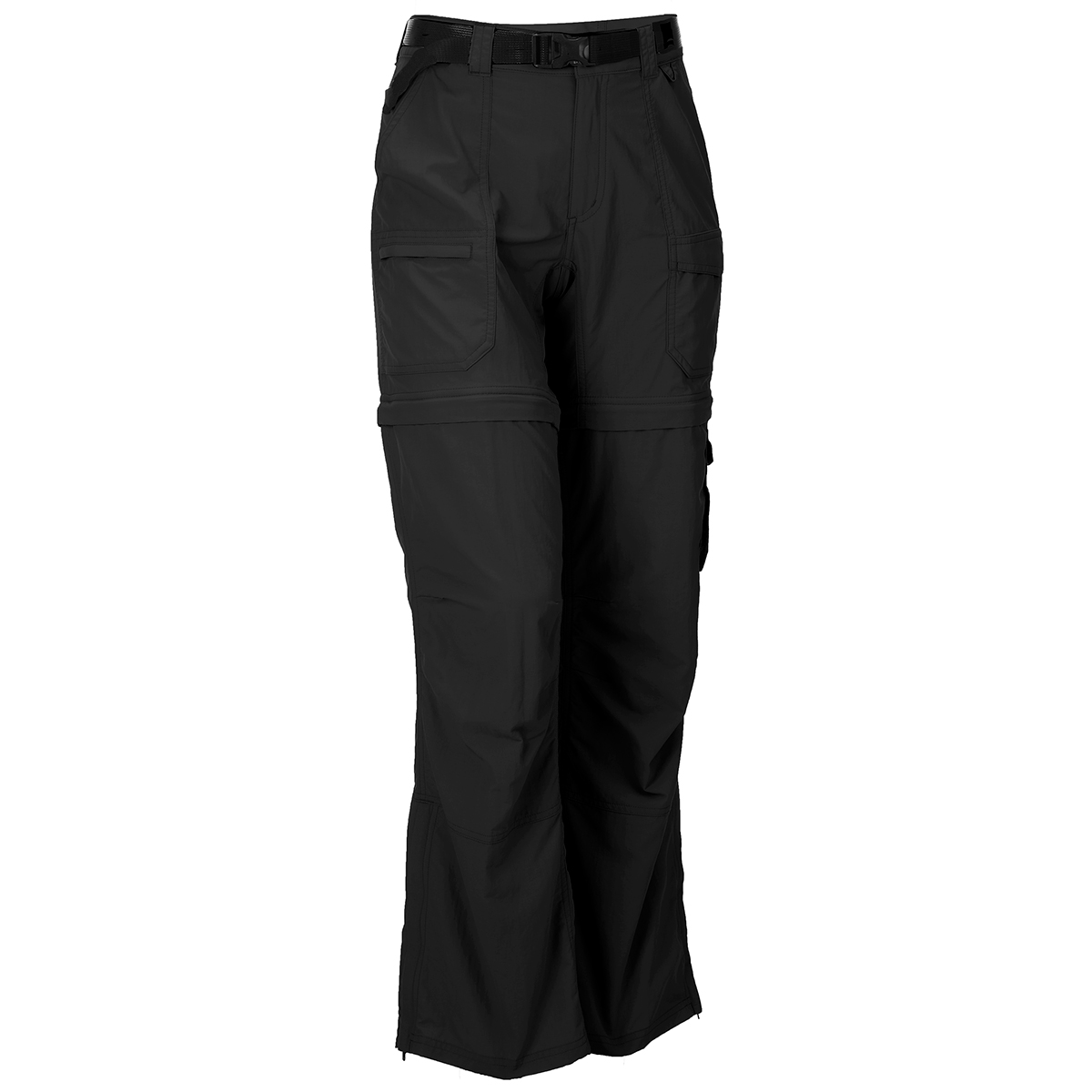 Ems Women's Camp Cargo Zip-Off Pants - Black, 0/S