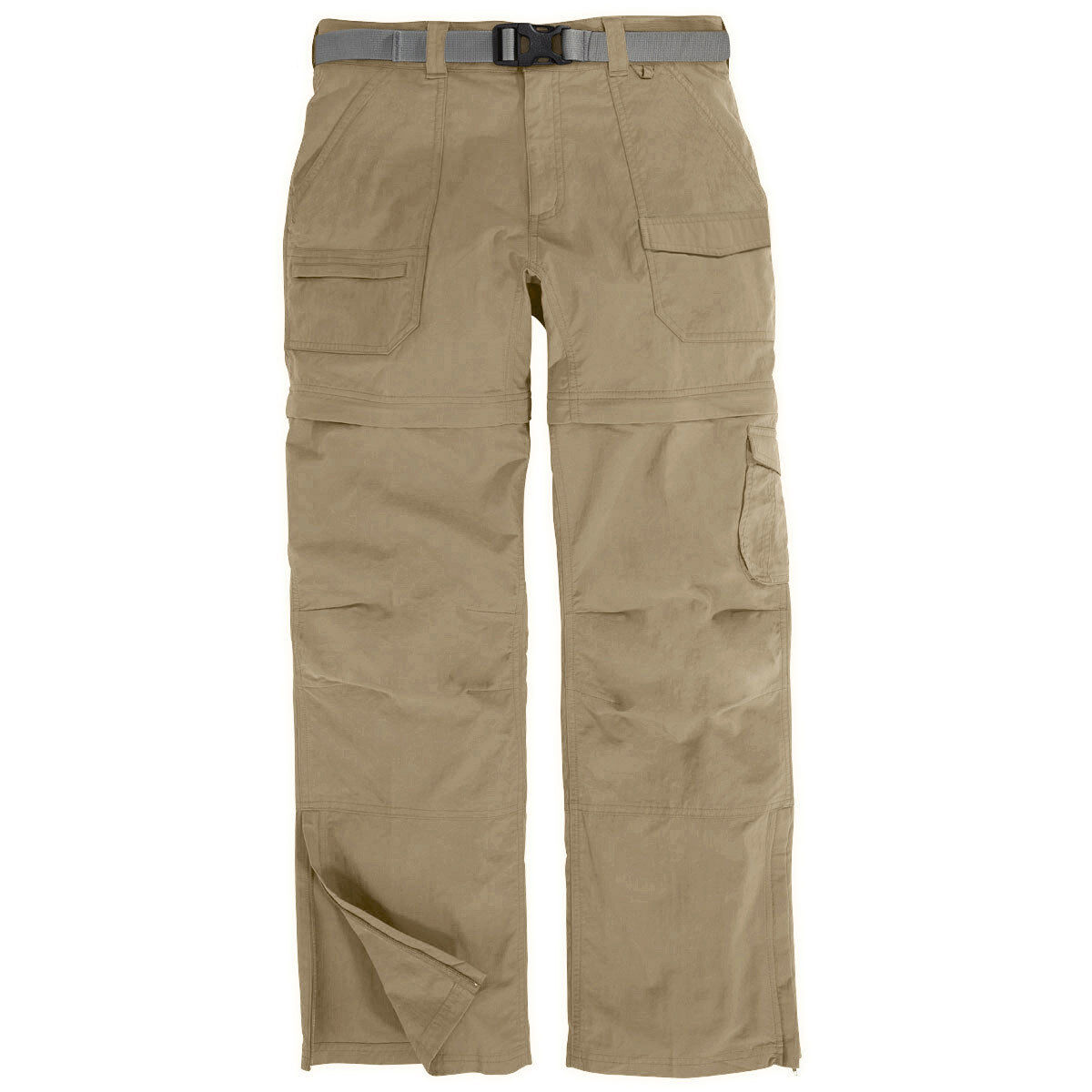 Ems Women's Camp Cargo Zip-Off Pants - Brown, 0/R
