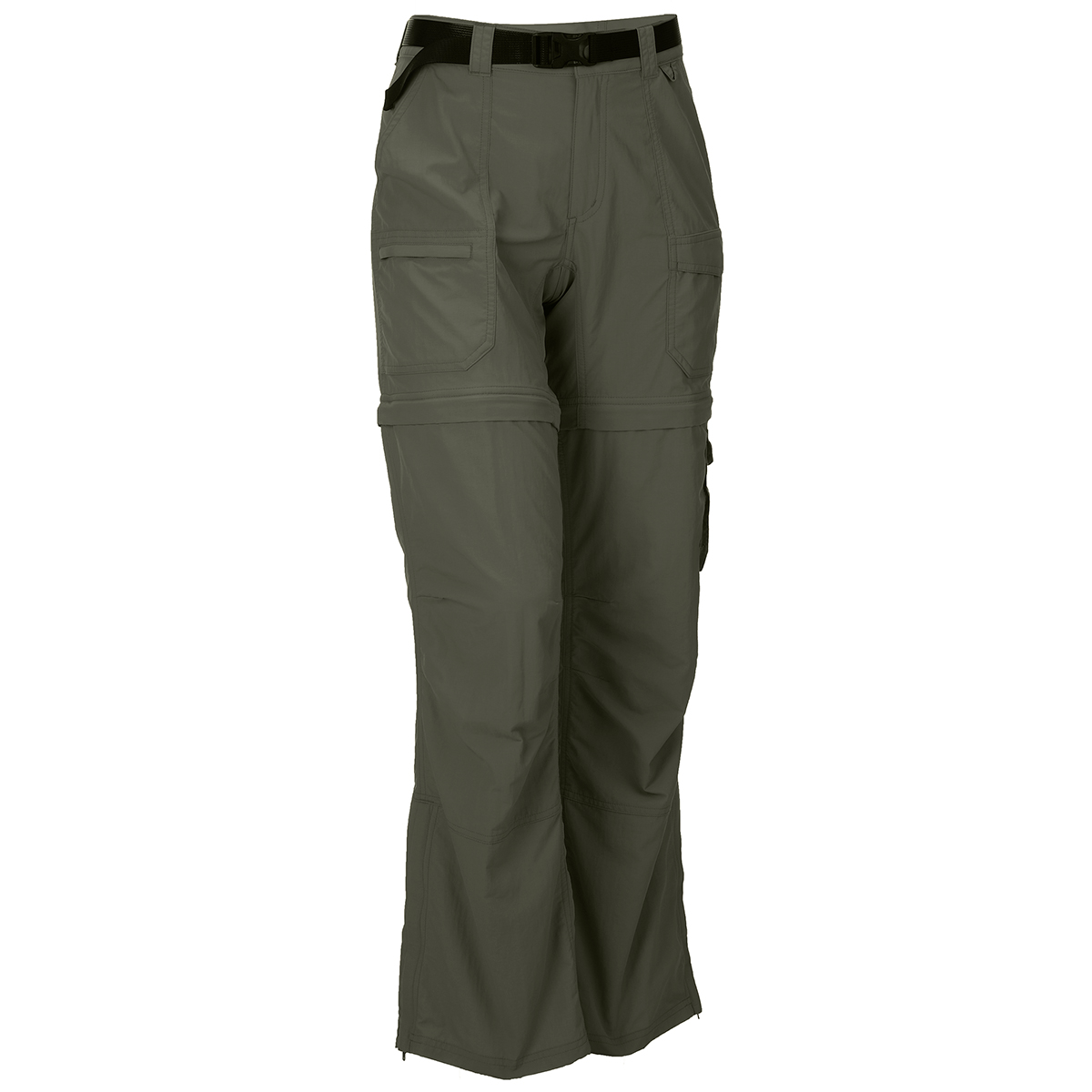 Ems Women's Camp Cargo Zip-Off Pants - Green, 8/R