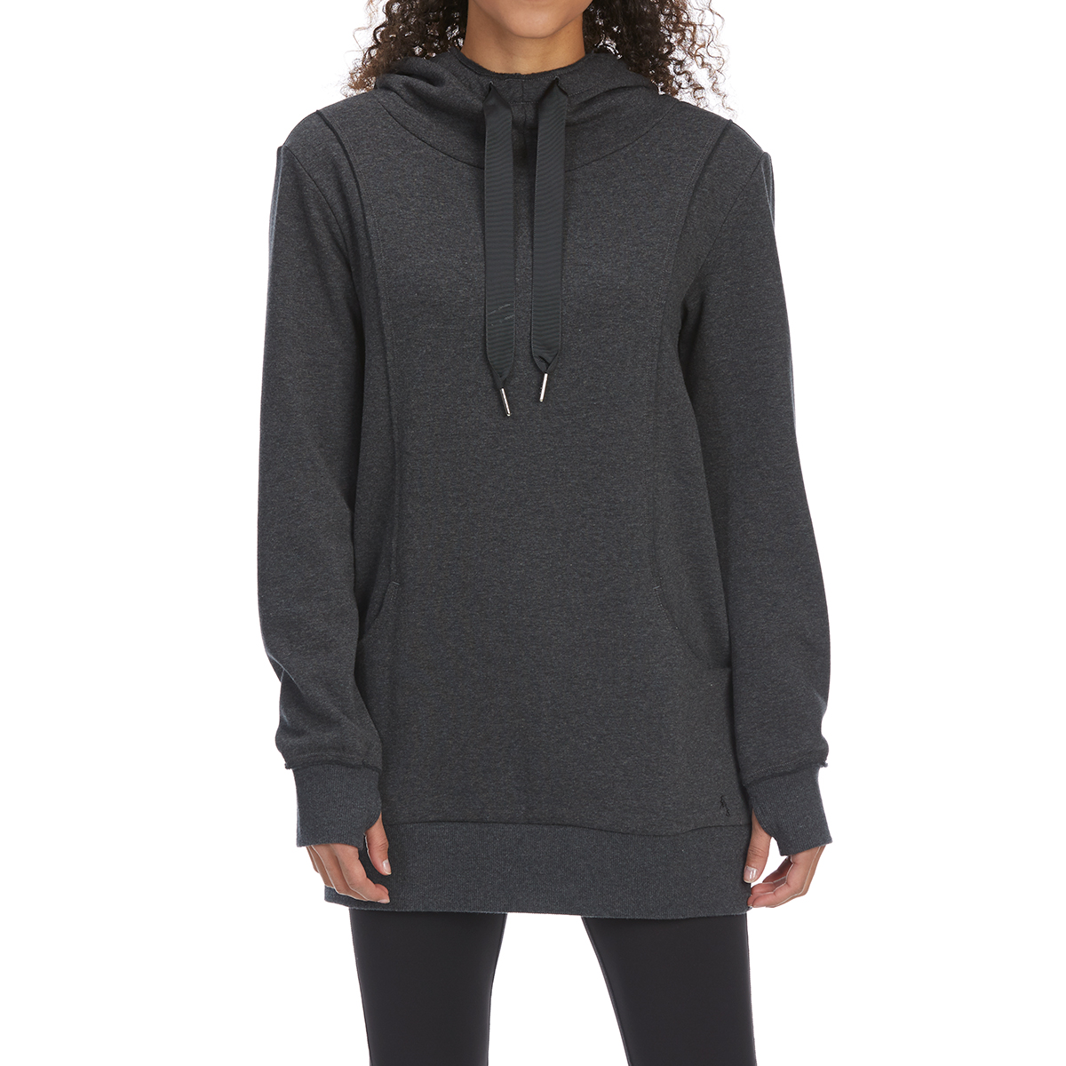 Ems Women's Canyon Pullover Hoodie - Black, XL