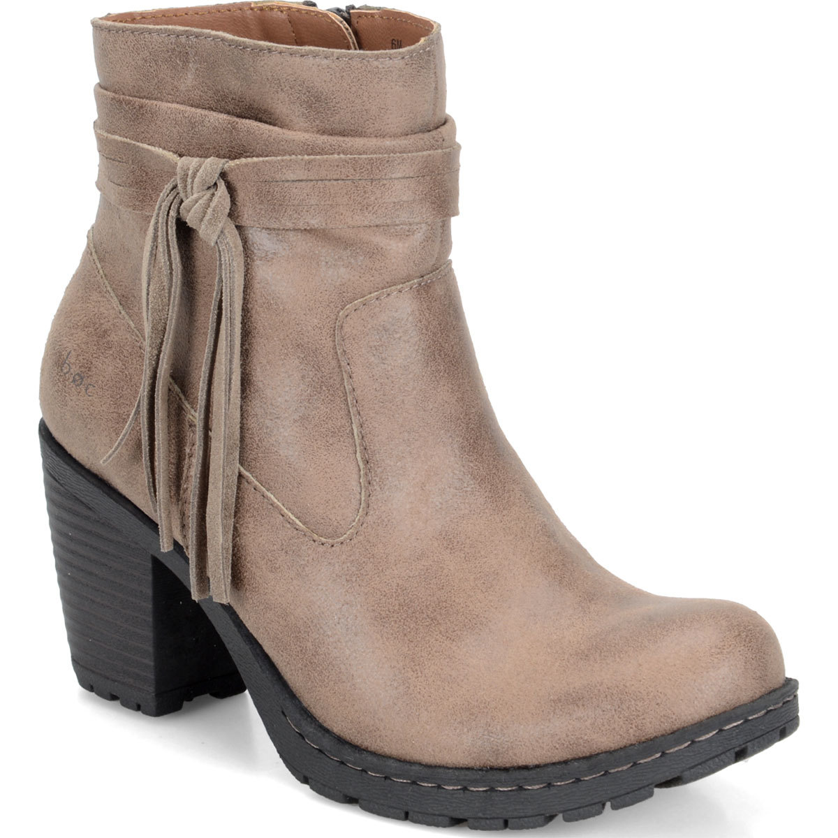 Boc Women's Alicudi Tassel Booties - Brown, 8.5