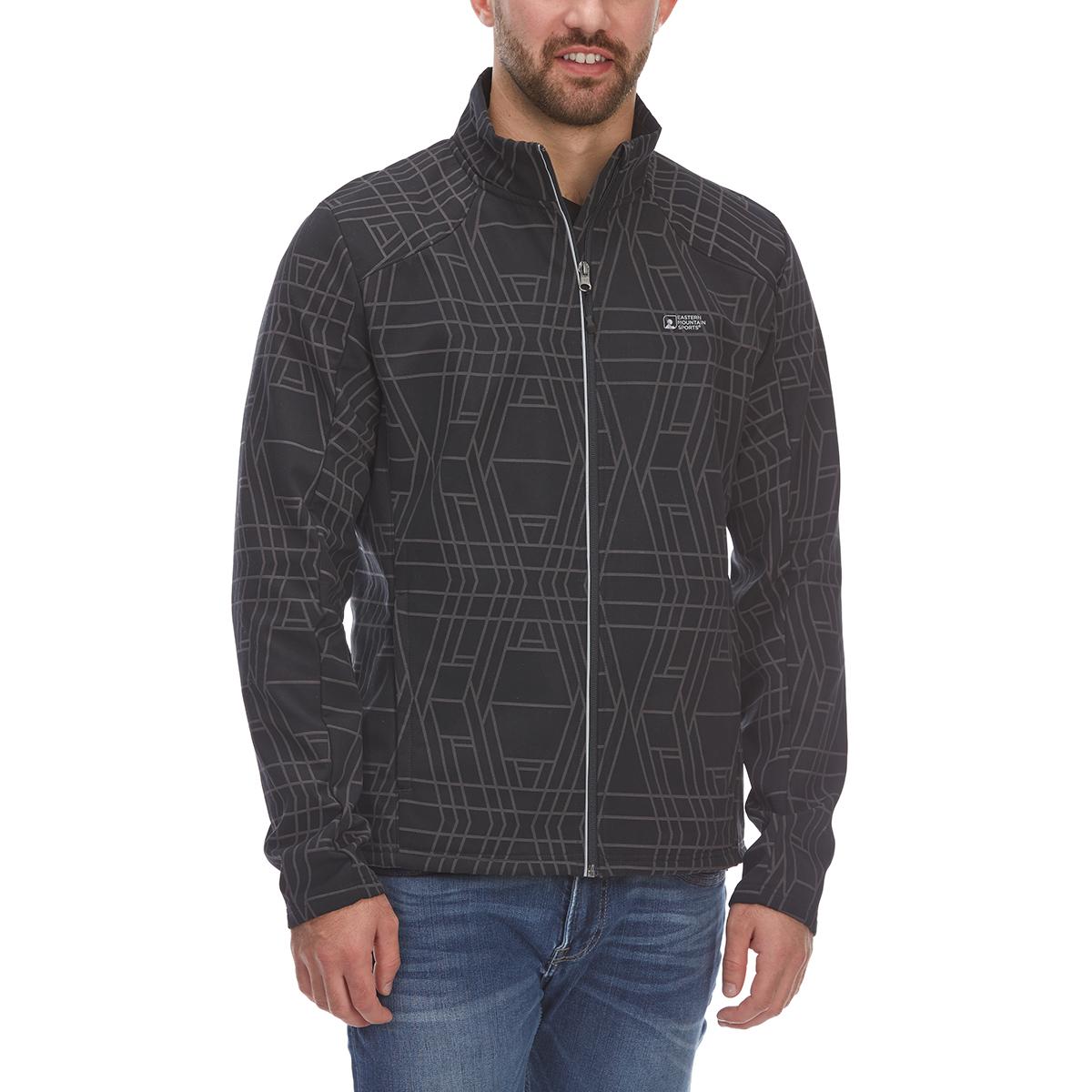 Ems Men's Reflective Softshell Jacket - Black, XXL