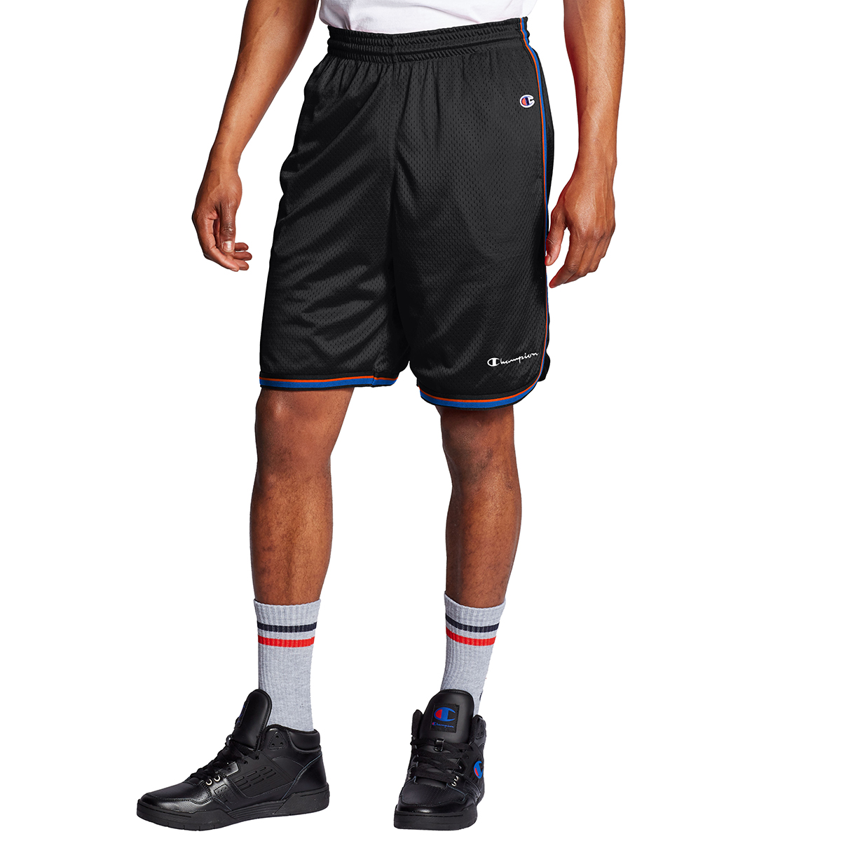 Champion Men's Core Basketball Shorts - Black, M