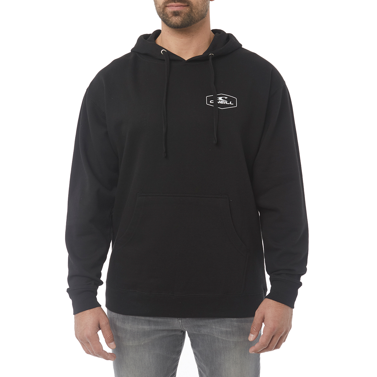 O'neill Guys' Trucker Fleece Pullover Hoodie - Black, XL
