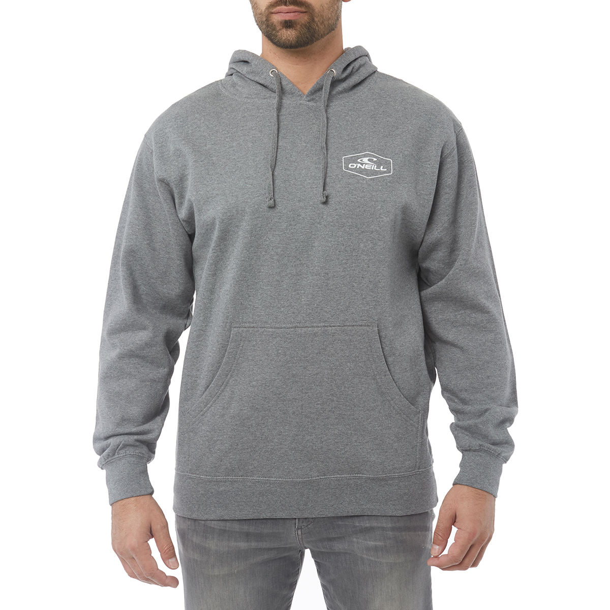 O'neill Guys' Trucker Fleece Pullover Hoodie - Black, S