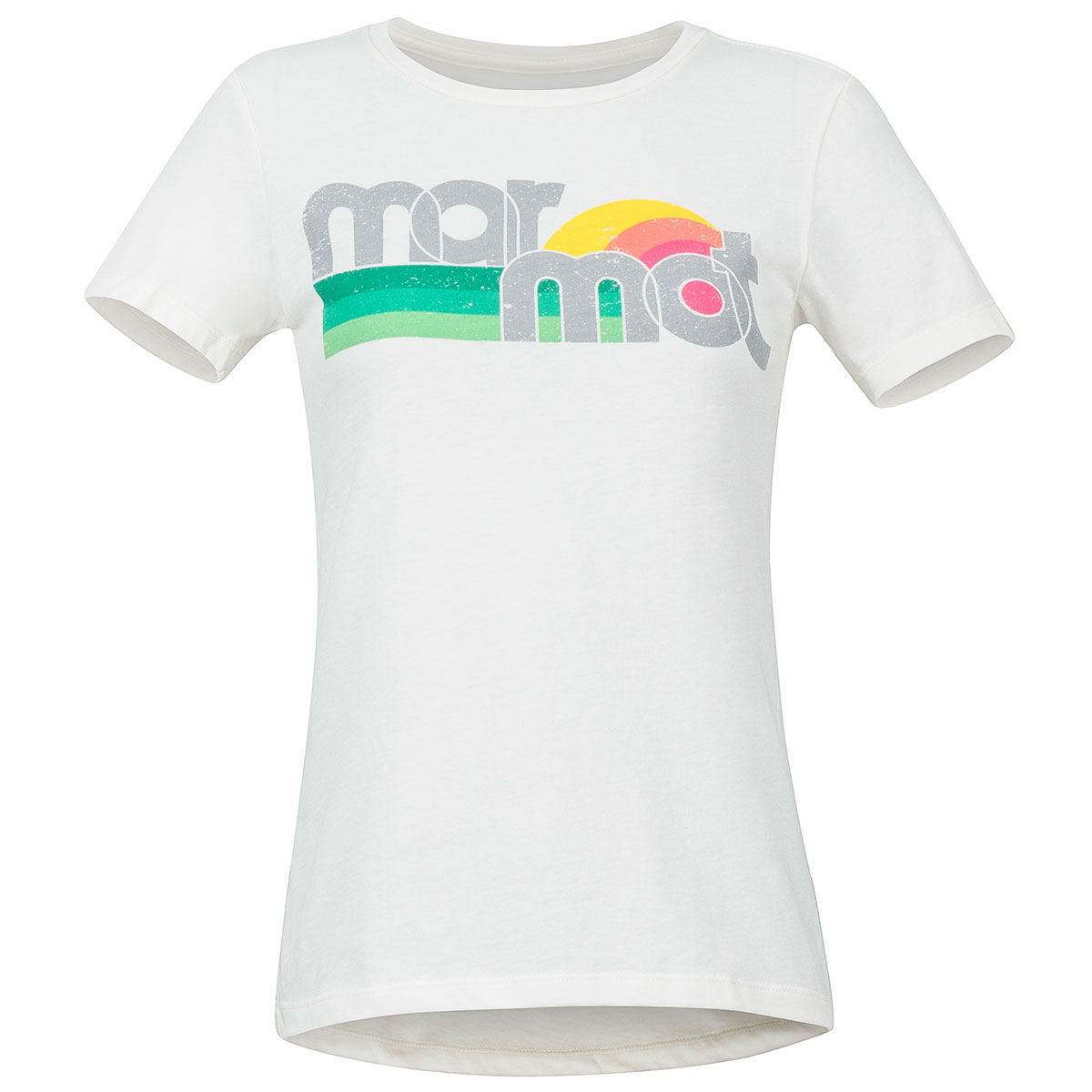 Marmot Women's Oceanside Short-Sleeve Tee - White, L