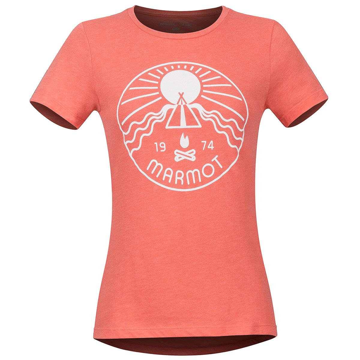 Marmot Women's Prism Short-Sleeve Tee - Orange, L