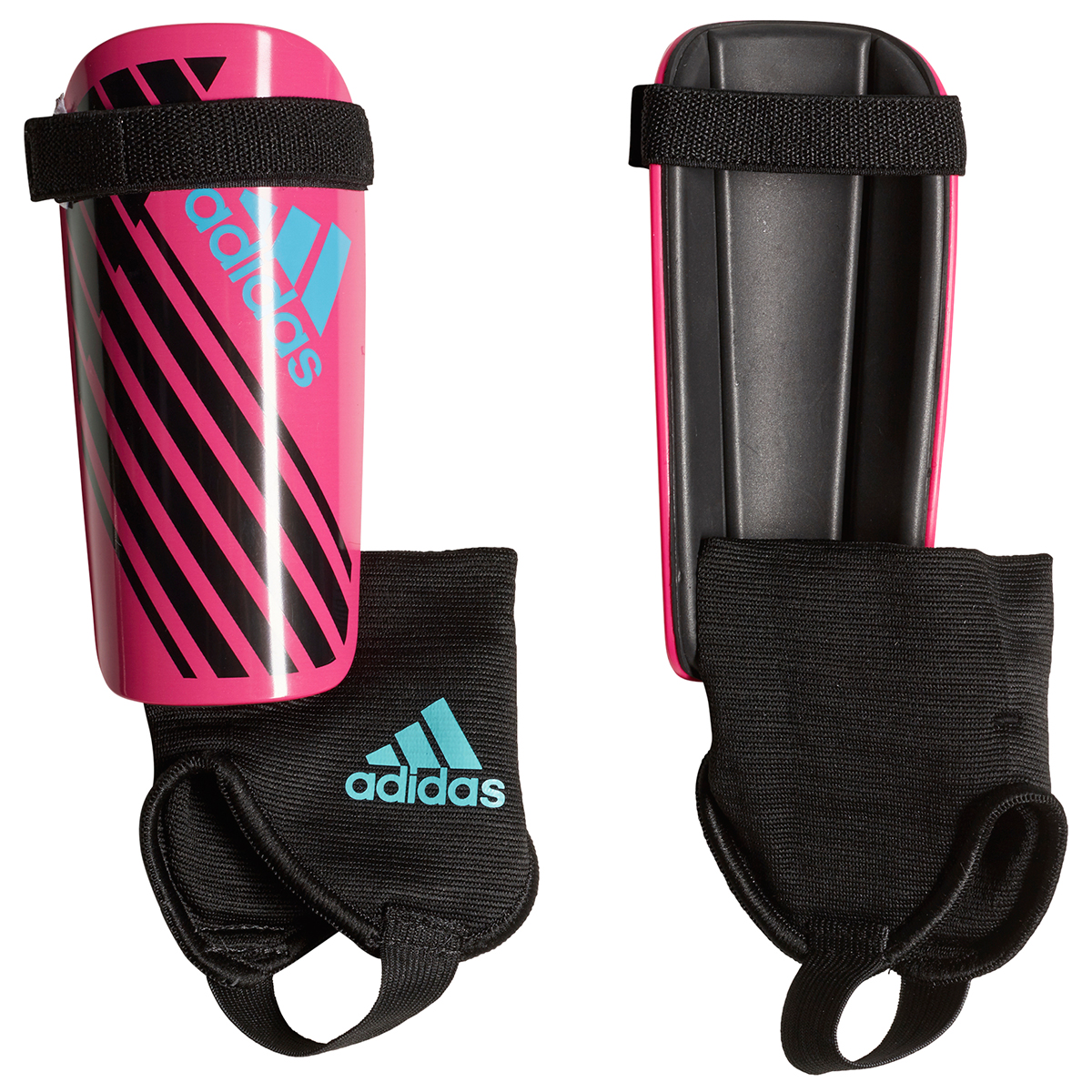 Adidas Girls' X Youth Shin Guards - Red, M