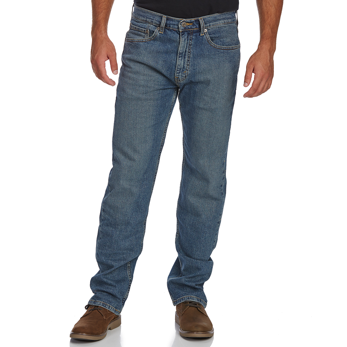Signature By Levi Strauss & Co. Gold Label Men's Regular Fit Jeans - Discontinued Style - Blue, 38/30
