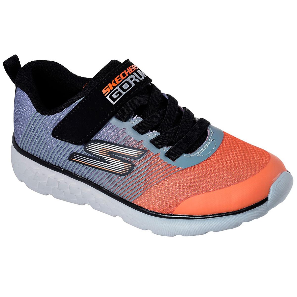 """Skechers Boys' Gorun 400 A """" Kroto Sneakers - Black, 13"""