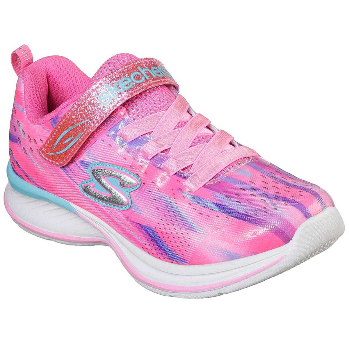 Skechers Toddler Girls' Jumpin Jams - Dream Runner Sneakers - Red, 9