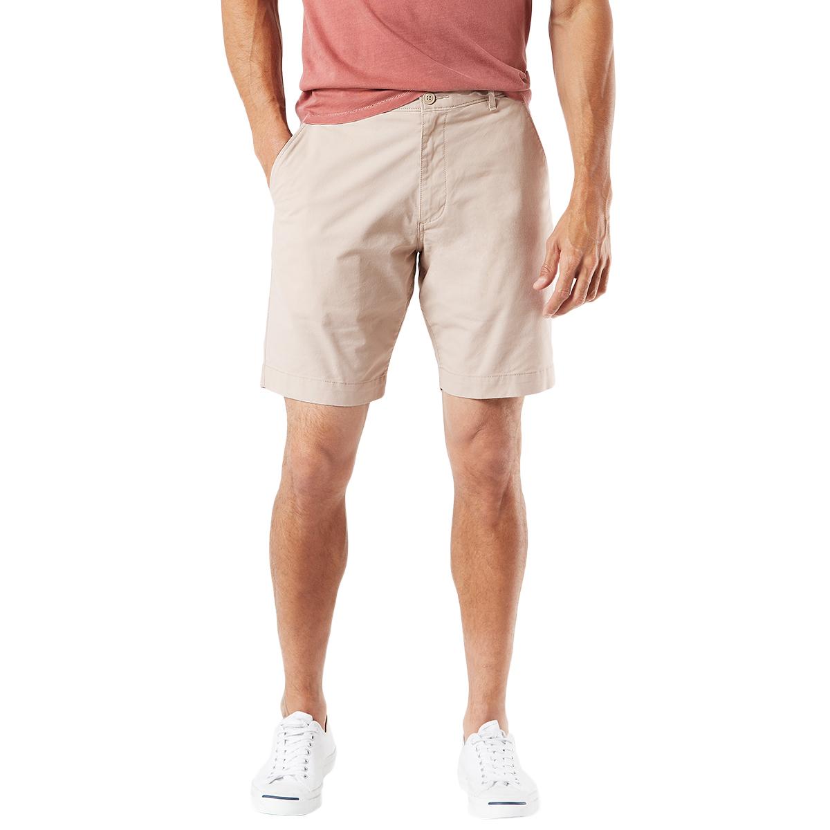 Dockers Men's Duraflex Lite Straight-Fit Shorts - Brown, 42
