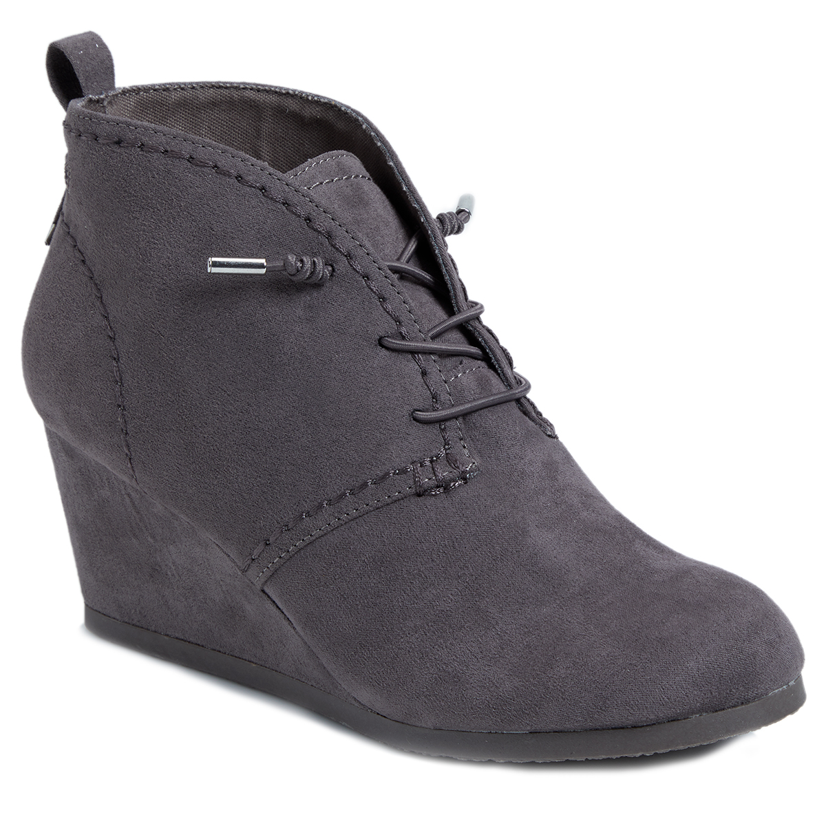 Rampage Women's Maybee Wedge Bootie - Black, 8.5