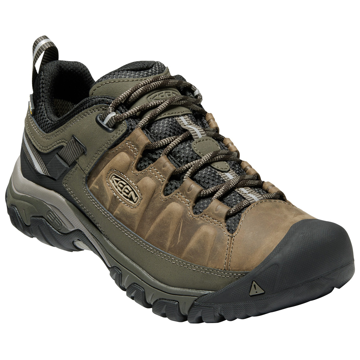 Keen Men's Targhee Iii Waterproof Low Hiking Shoes - Brown, 11