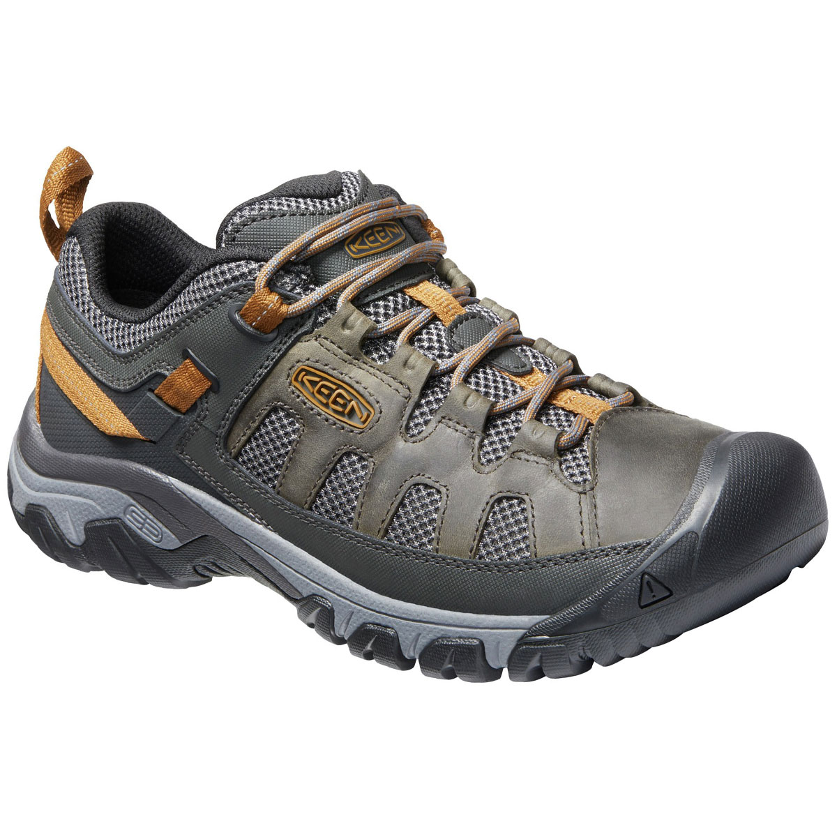Keen Men's Targhee Vent Low Hiking Shoes - Brown, 13
