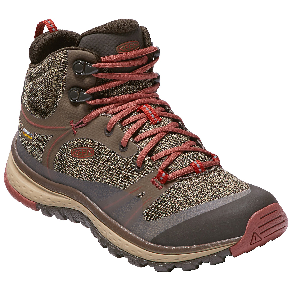 Keen Women's Terradora Waterproof Mid Hiking Boots - Brown, 7.5
