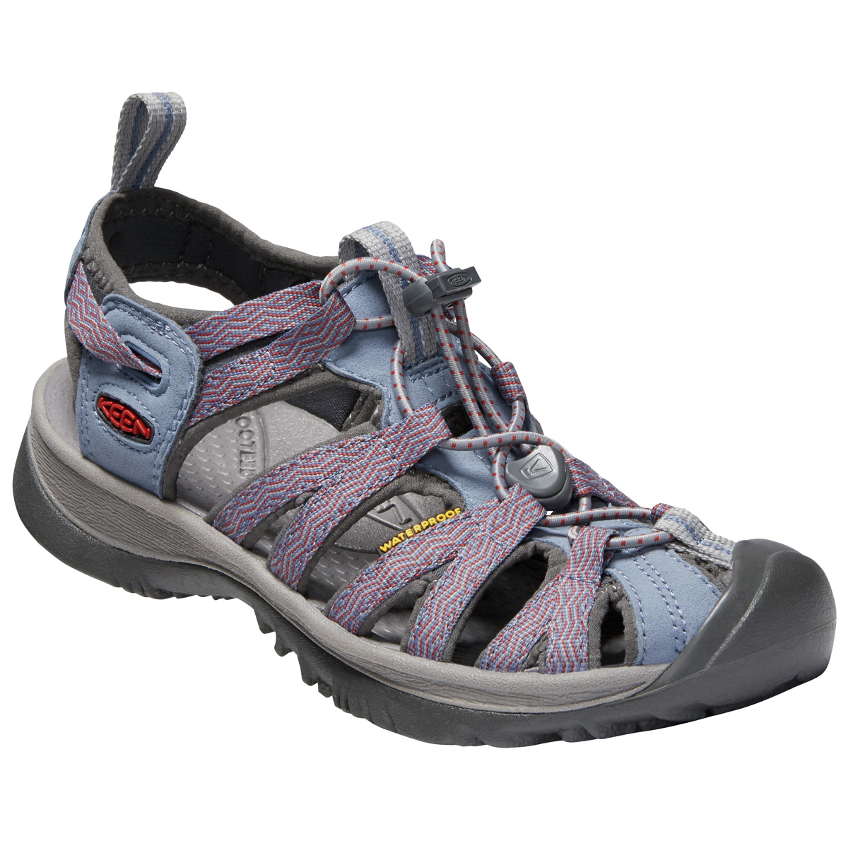 Keen Women's Whisper Sandals - Black, 7.5