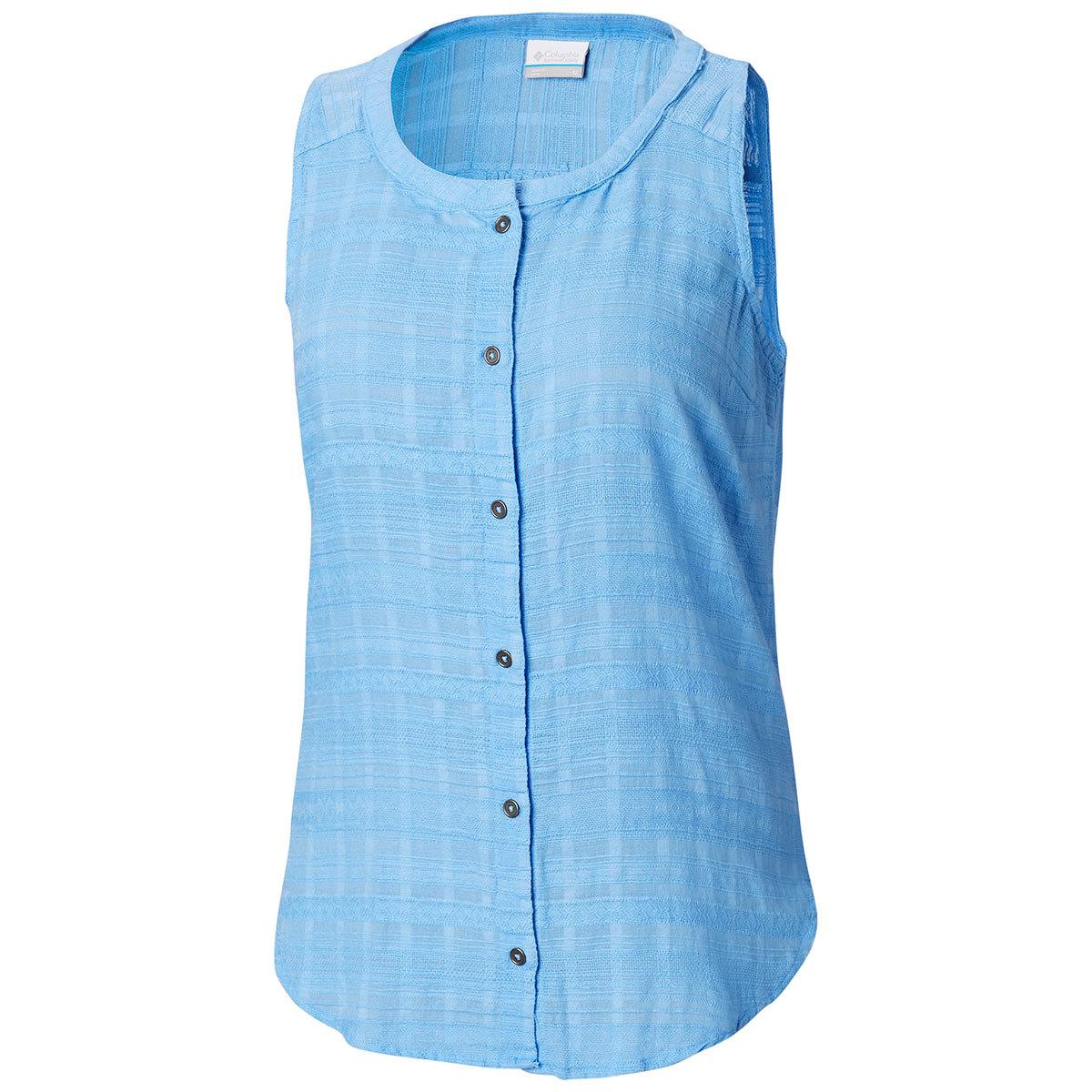 Columbia Women's Summer Ease Sleeveless Shirt - White, L