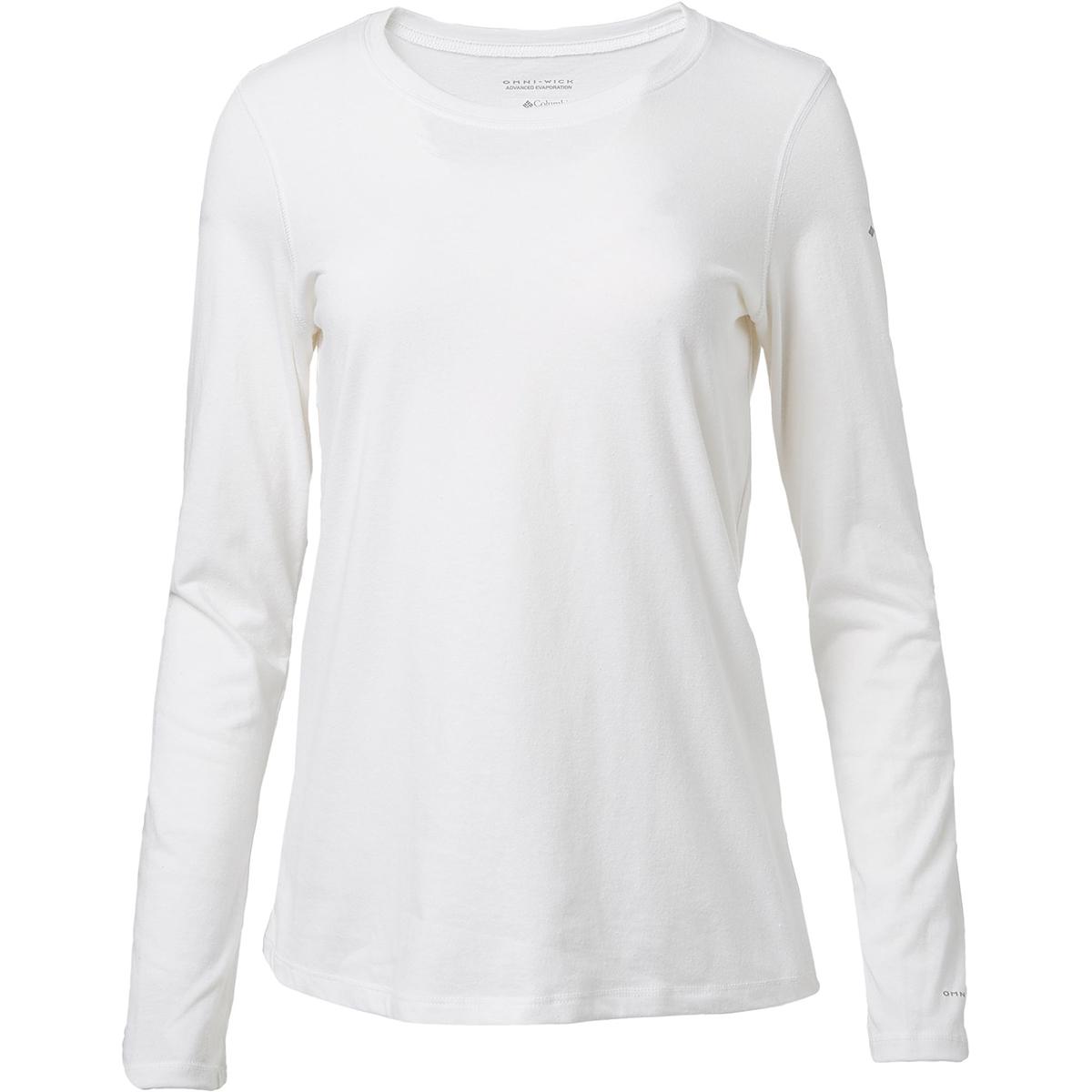 Columbia Women's Solar Shield Long-Sleeve Shirt - White, S