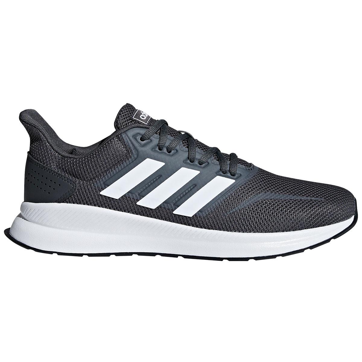 Adidas Men's Run Falcon Running Shoes - Black, 11