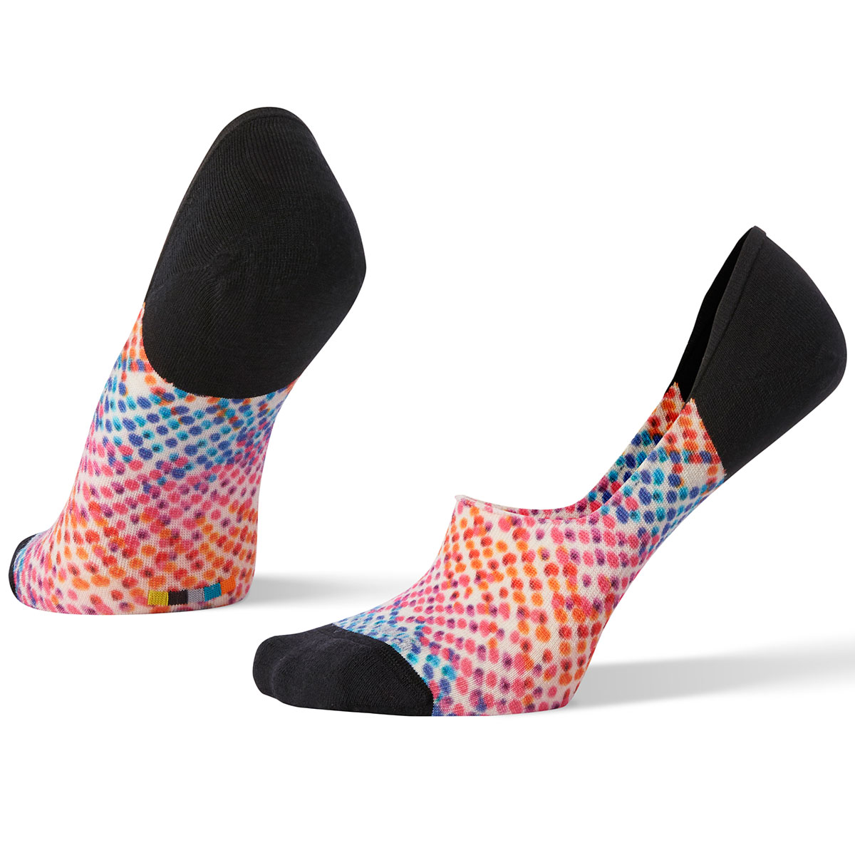 Smartwool Women's Curated Firecracker No-Show Socks - White, M