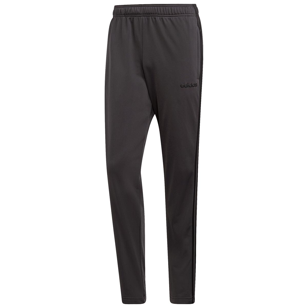 Adidas Men's 3-Stripe Wind Pants - Black, XXL