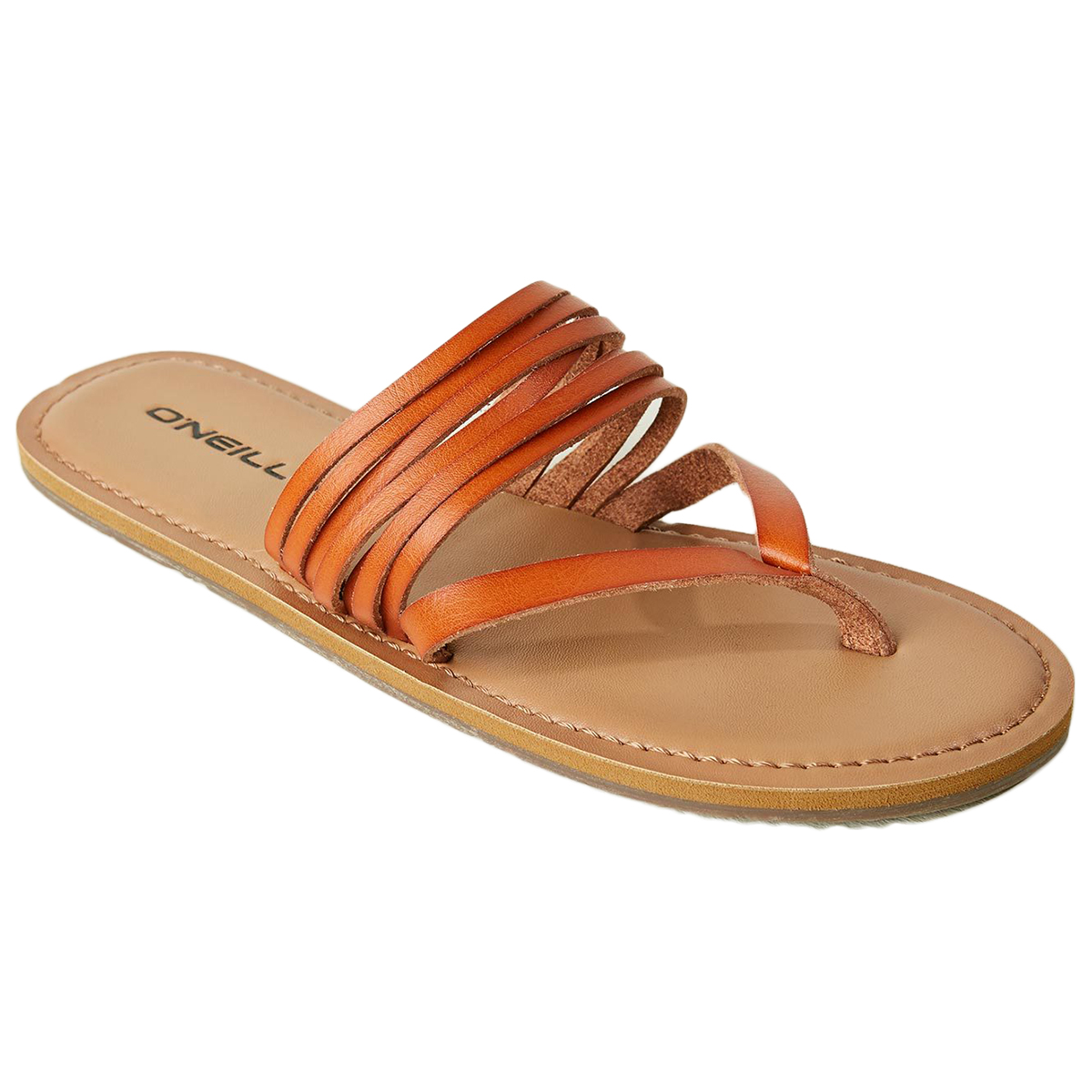 O'neill Women's Pasadena Thong Sandal - Brown, 8