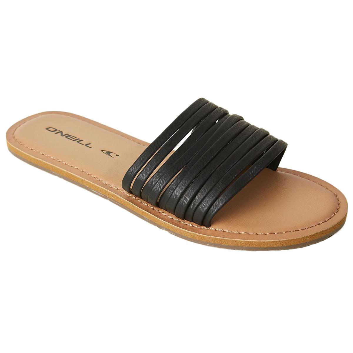 O'neill Women's Laguna Slide Sandal - Black, 8