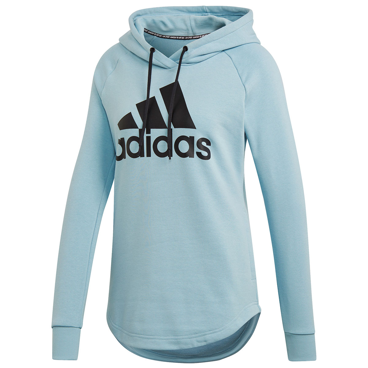 Adidas Women's Must Haves Badge Of Sport Hoody - Blue, XL