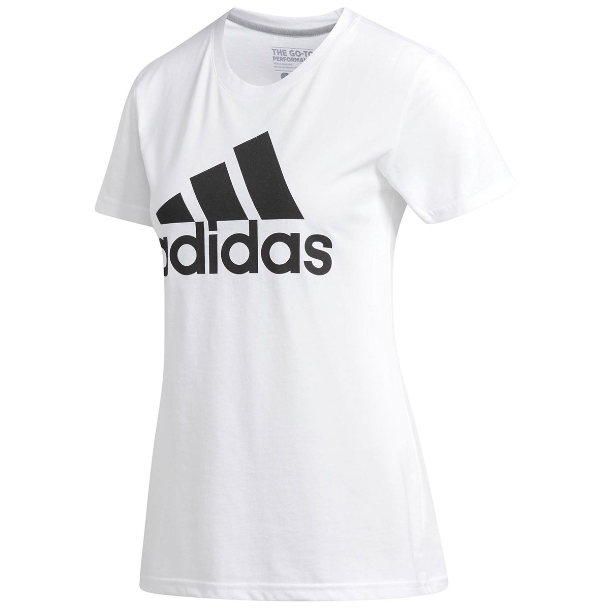 Adidas Women's Badge Of Sport Classic Short-Sleeve Tee - White, S