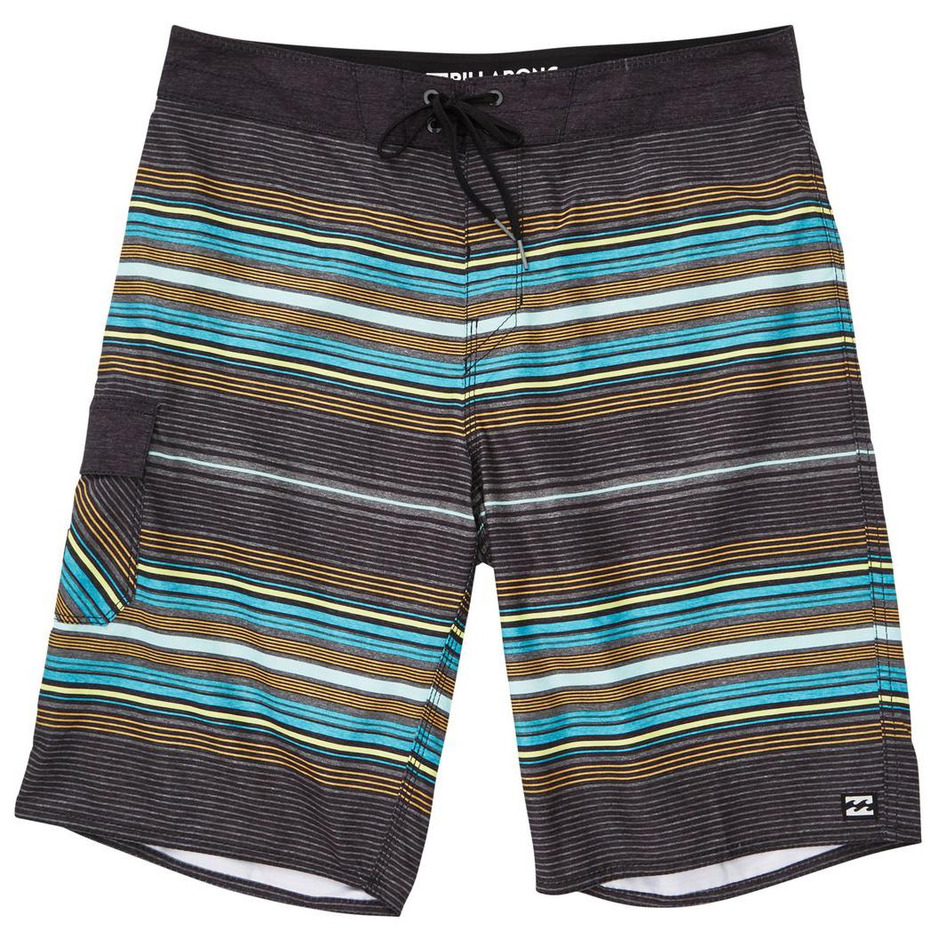 Billabong Guys' All Day Stripe Og Boardshorts - Black, 30