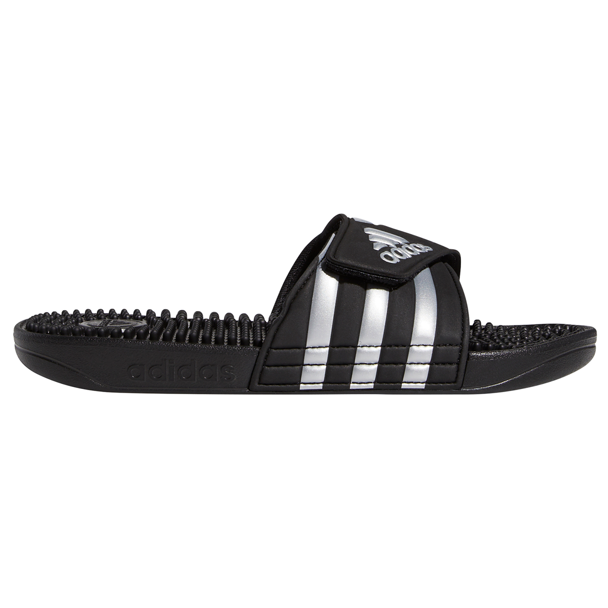 Adidas Women's Adissage Slides - Black, 7