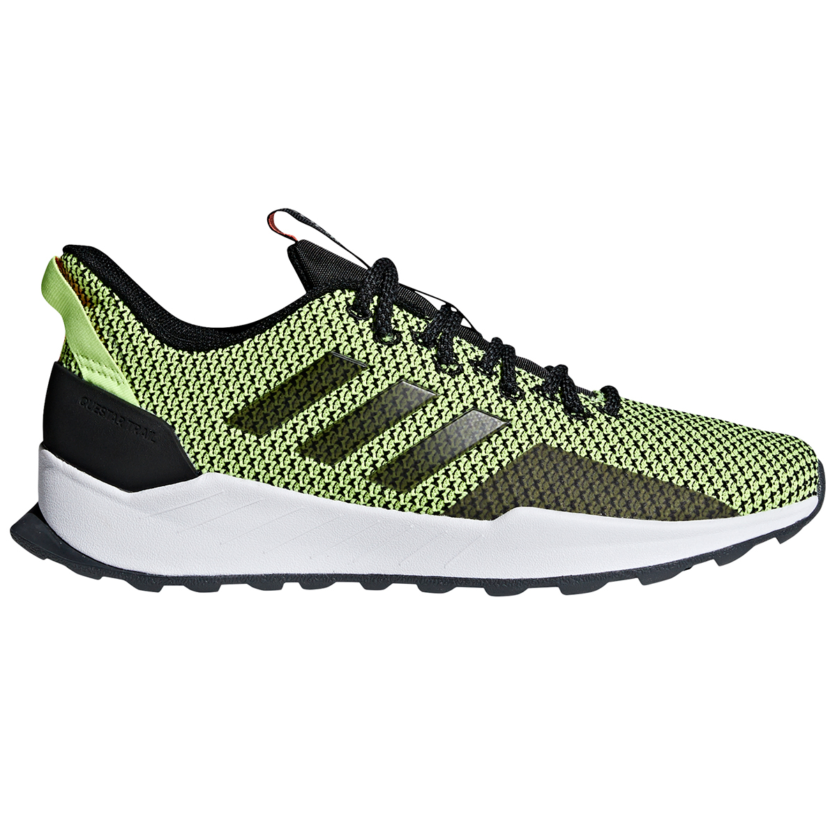 Adidas Men's Questar Trail Running Shoes - Black, 10