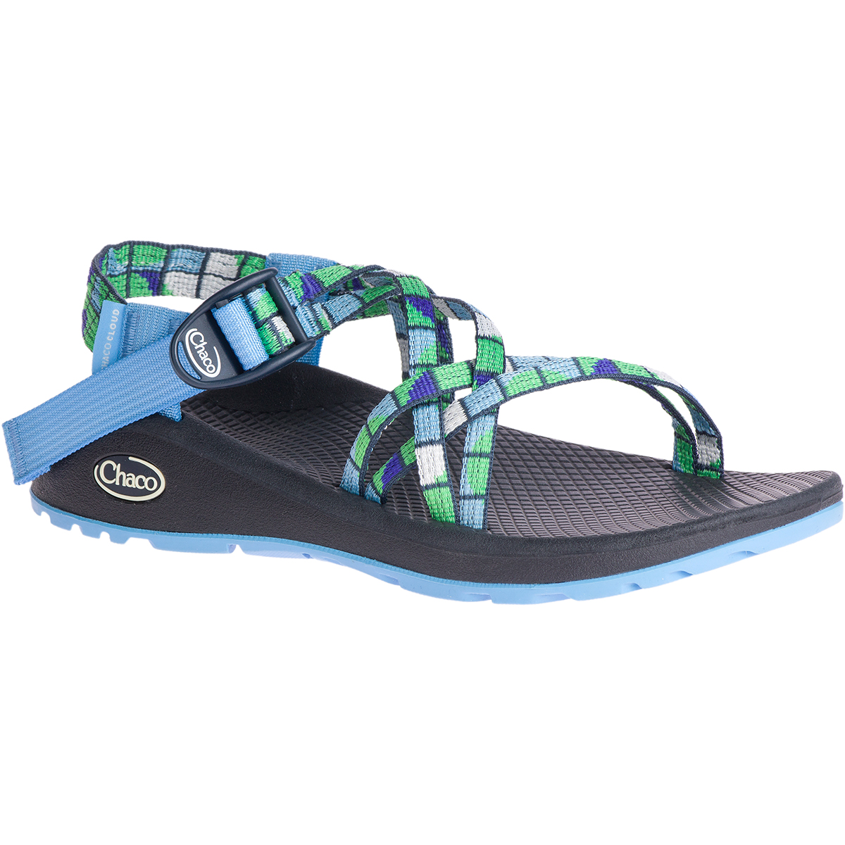 Chaco Women's Z/cloud X Sandals - Blue, 8
