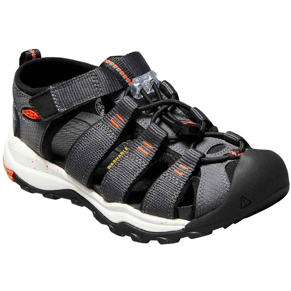 Keen Kids' Newport Neo H2 Sandal - Black, 1