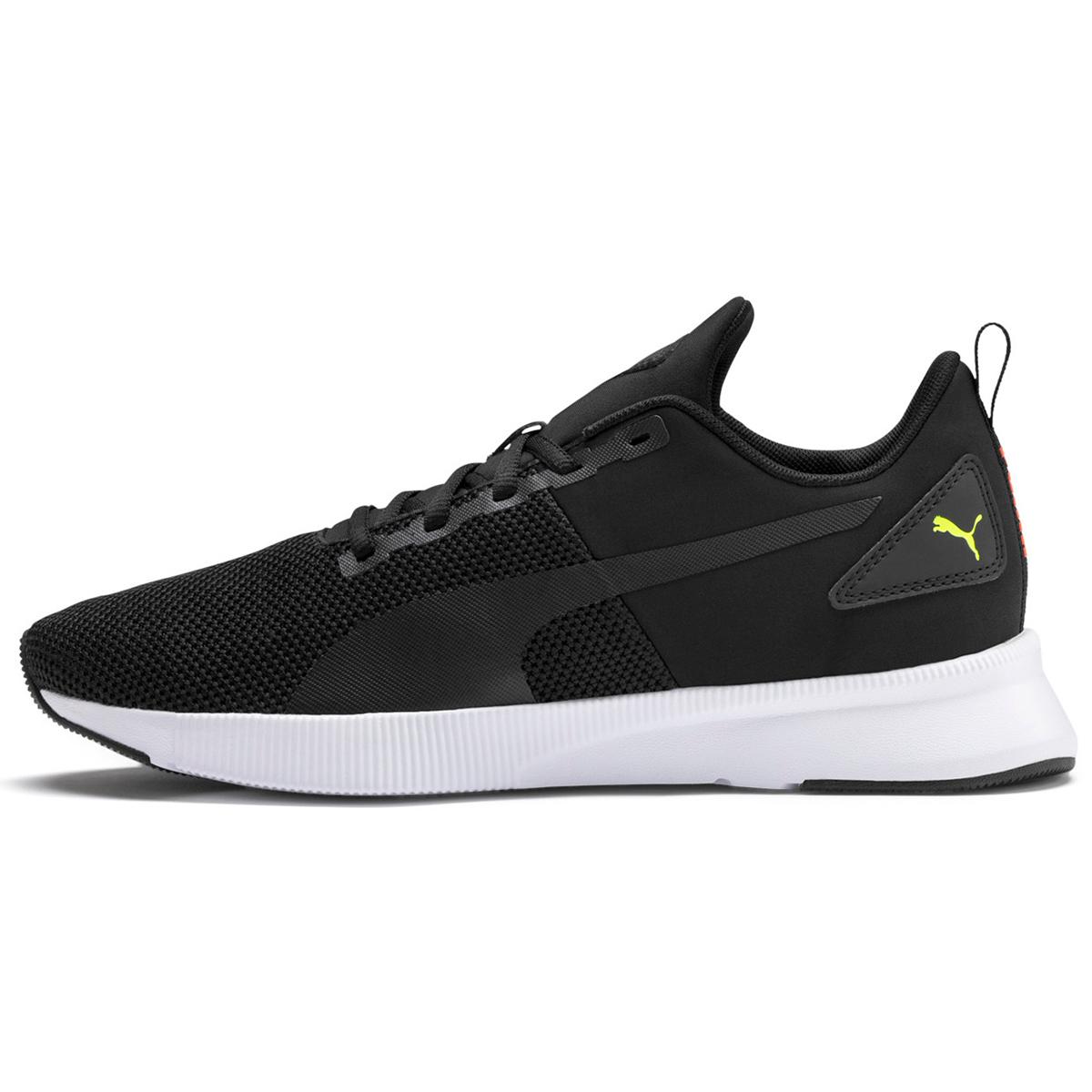 Puma Men's Flyer Runner Shoe - Black, 8