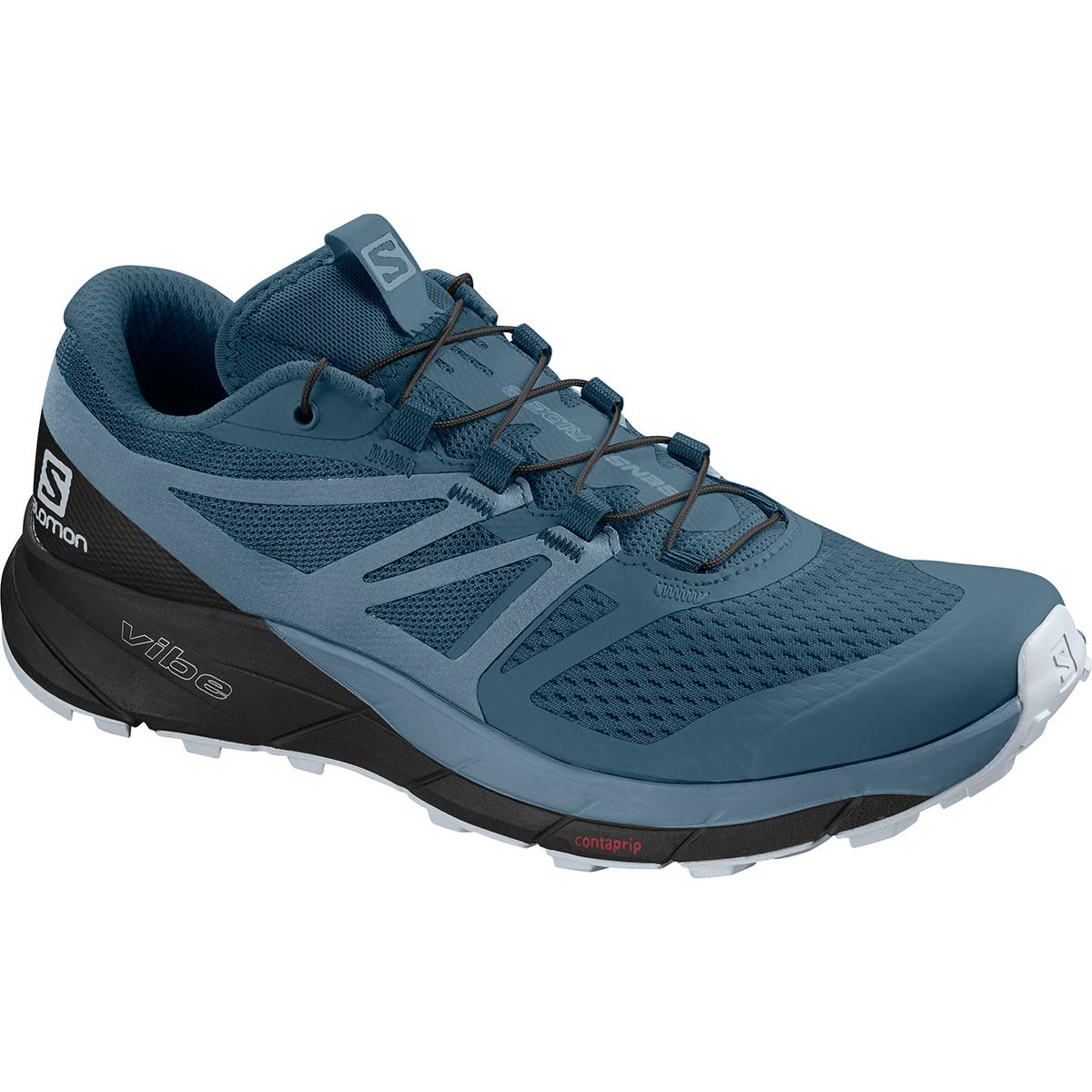 Salomon Women's Sense Ride 2 Trail Running Shoes - Blue, 10