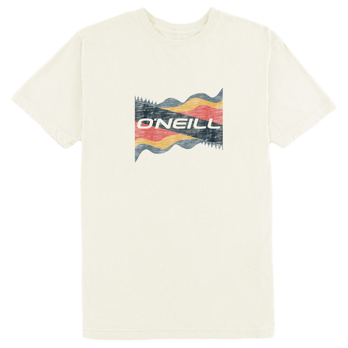 O'neill Men's Liquid Dream  Short-Sleeve Tee - White, XL