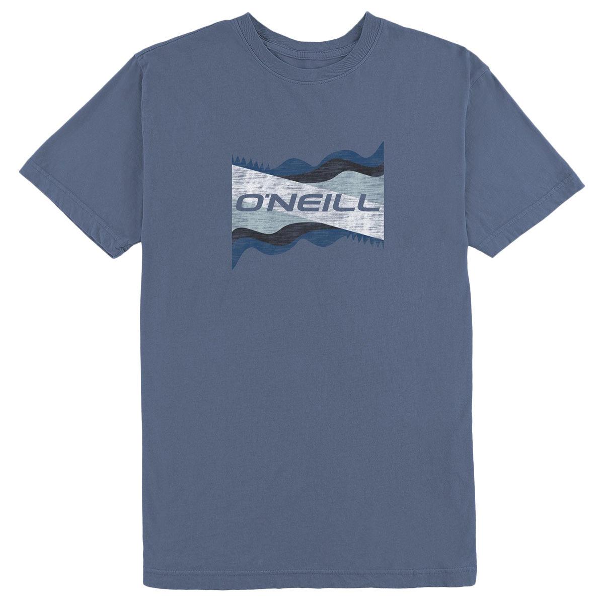 O'neill Men's Liquid Dream  Short-Sleeve Tee - Blue, L
