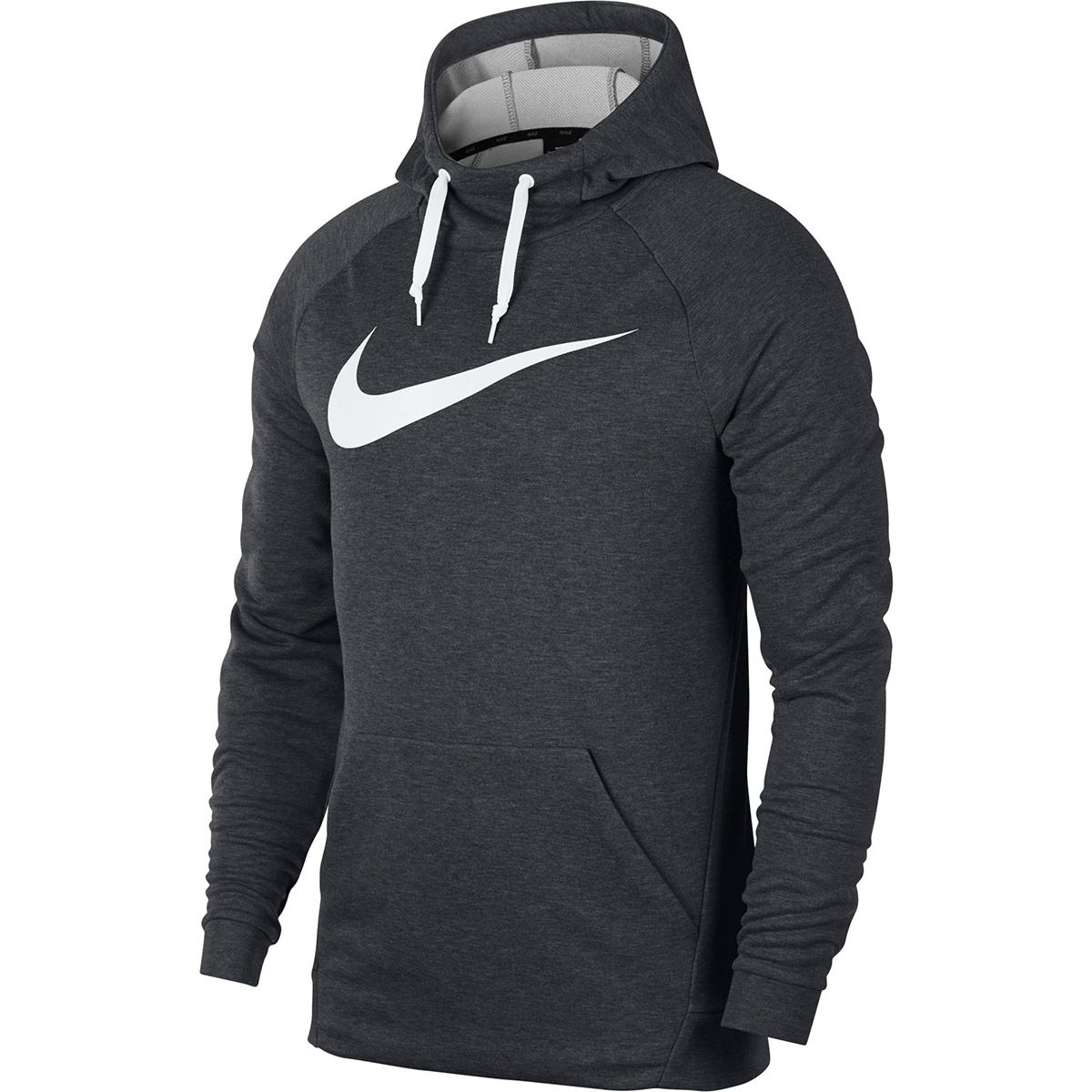 Nike Men's Dri-Fit Training Pullover Hoodie - Black, L