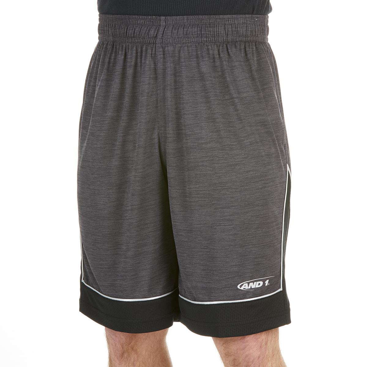 And1 Men's 6Th Man Basketball Short - Black, M