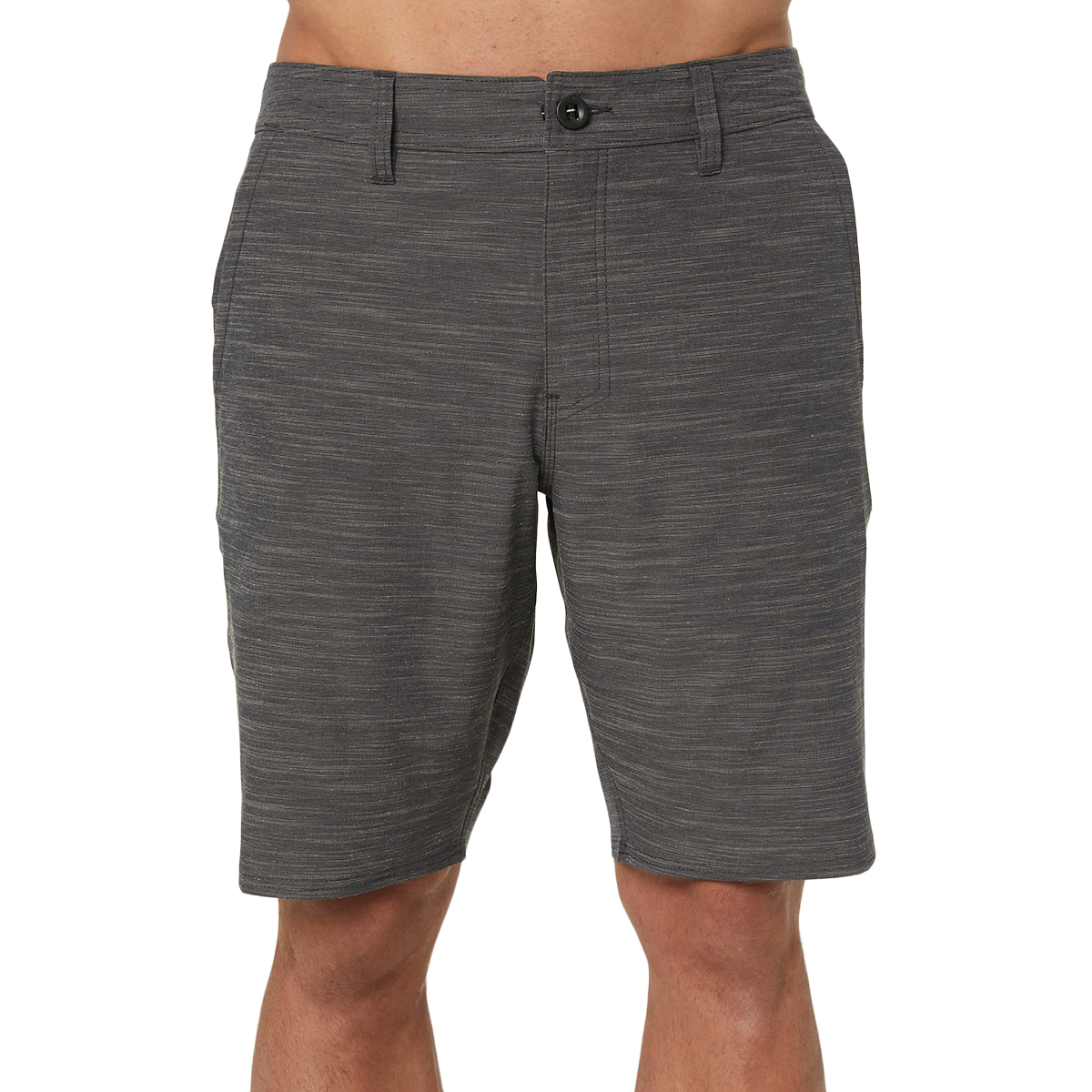 O'neill Men's Locked Slub Hybrid Shorts - Black, 34