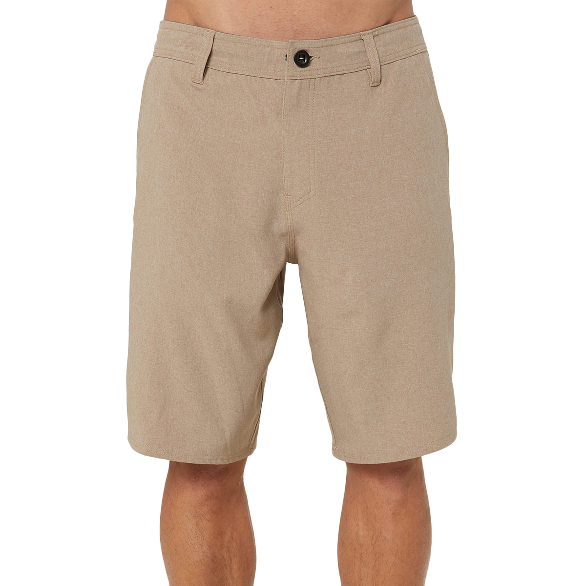 O'neill Men's Reserve Heather Hybrid Shorts - Brown, 34