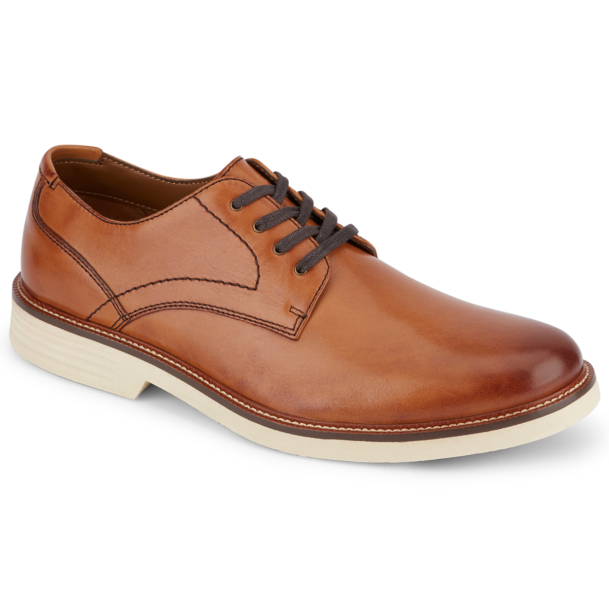 Dockers Men's Parkway Plain Toe Shoes - Brown, 10.5